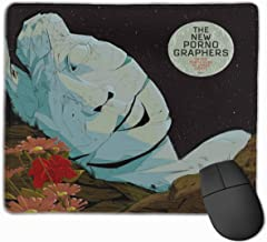 TRPOUIJD in The Morse Code of Brake Lights New Pornographers Mouse Pad Rectangle Rubber Anime Mouse Pad Gaming Mouse Pad 12x9.8 Inch(30x25 cm)