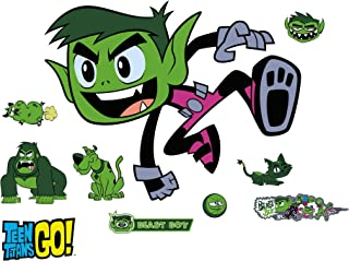 Fathead Beast Boy: Teen Titans GO-Giant Officially Licensed DC Removable Wall Decal