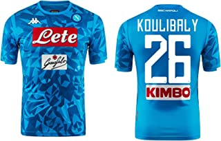 SSC Napoli Koulibaly Replica Home Shirt 2018-19 Original Kappa