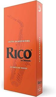 D'Addario Woodwinds Alto Sax Reeds, Strength 2, 25-Pack (RJA2520)