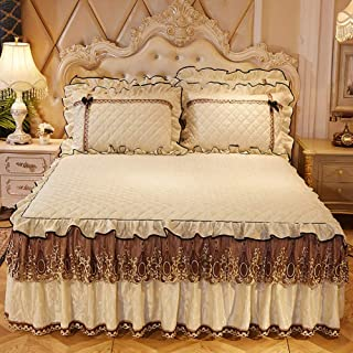 JANRON Quilted Patchwork Bedspread Super King Size Bed Cover 3 Pieces 100% Cotton Coverlet with Pillowcases Reversible Bed Blanket Throws