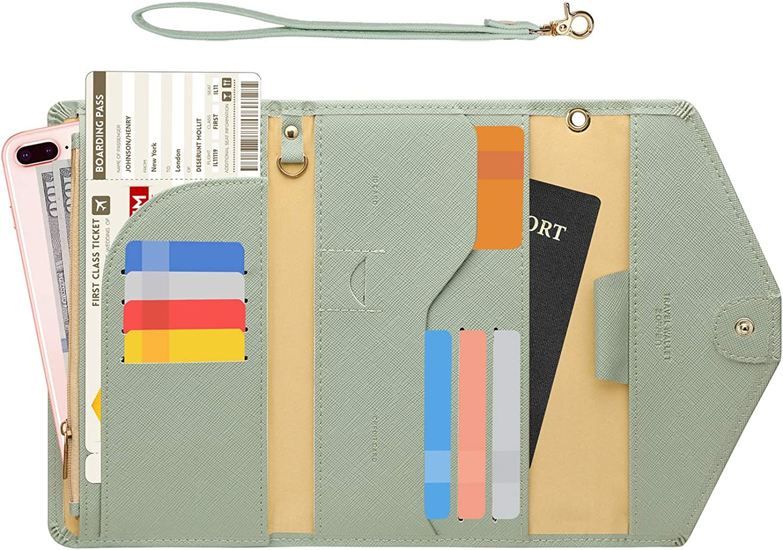 Zoppen Passport Holder Travel Wallet Credence Ver.5 Women Rfid 35% OFF Bloc for