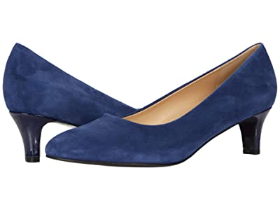 Trotters Fab (Navy Suede) Women