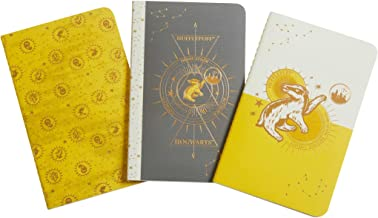 Harry Potter: Hufflepuff Constellation Sewn Pocket Notebook Collection: Set of 3