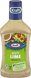 Kraft Zesty Lime Vinaigrette Dressing (16 oz Bottle)