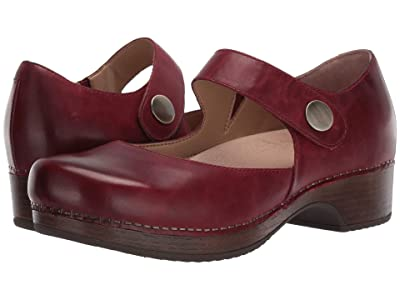 Dansko Beatrice (Red Waxy Burnished) Women