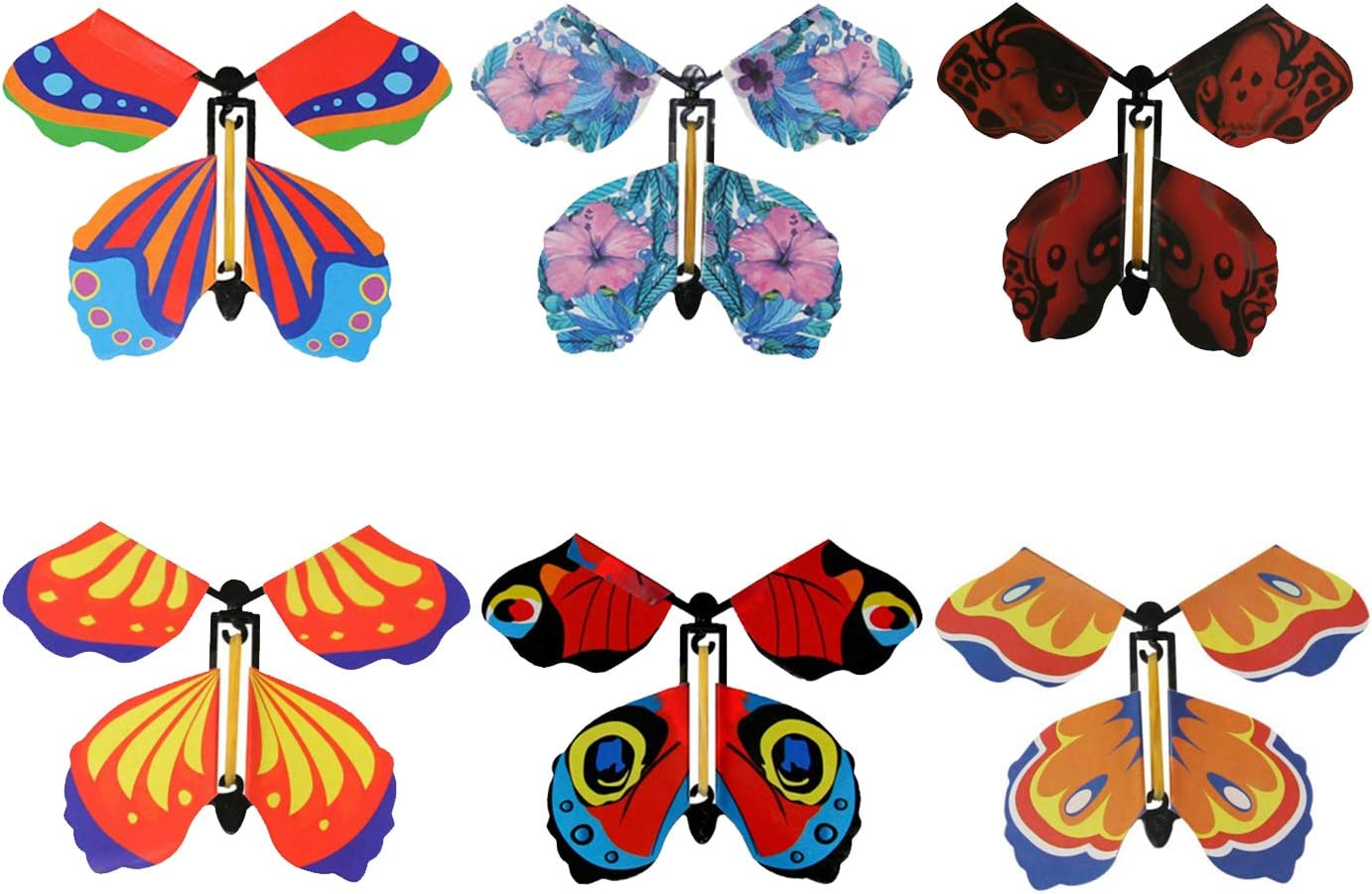 Modpion 18 Pieces service Magic Fairy Butterfly Rubber Max 88% OFF Power Band Flying