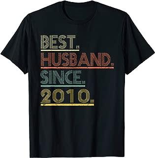 9th Wedding Anniversary Gifts Husband Since 2010 T Shirt T-Shirt