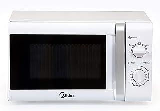 Midea 20 Liters Solo Microwave, White - MM720CTB, 1 Year Warranty