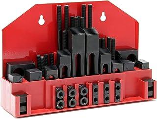 Spannpratzen Sortiment 58 tlg. für 14mm T Nutenbreite und M12 Gewinde in Aufbewahrungskassette