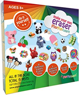 Play Fun Learn Make Your Own Eraser DIY