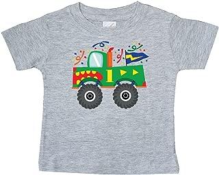 inktastic 1st Birthday Monster Truck Baby T-Shirt