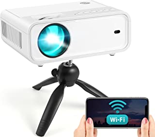 2021 Upgraded Explore 2 WiFi Mini Projector, Full HD...