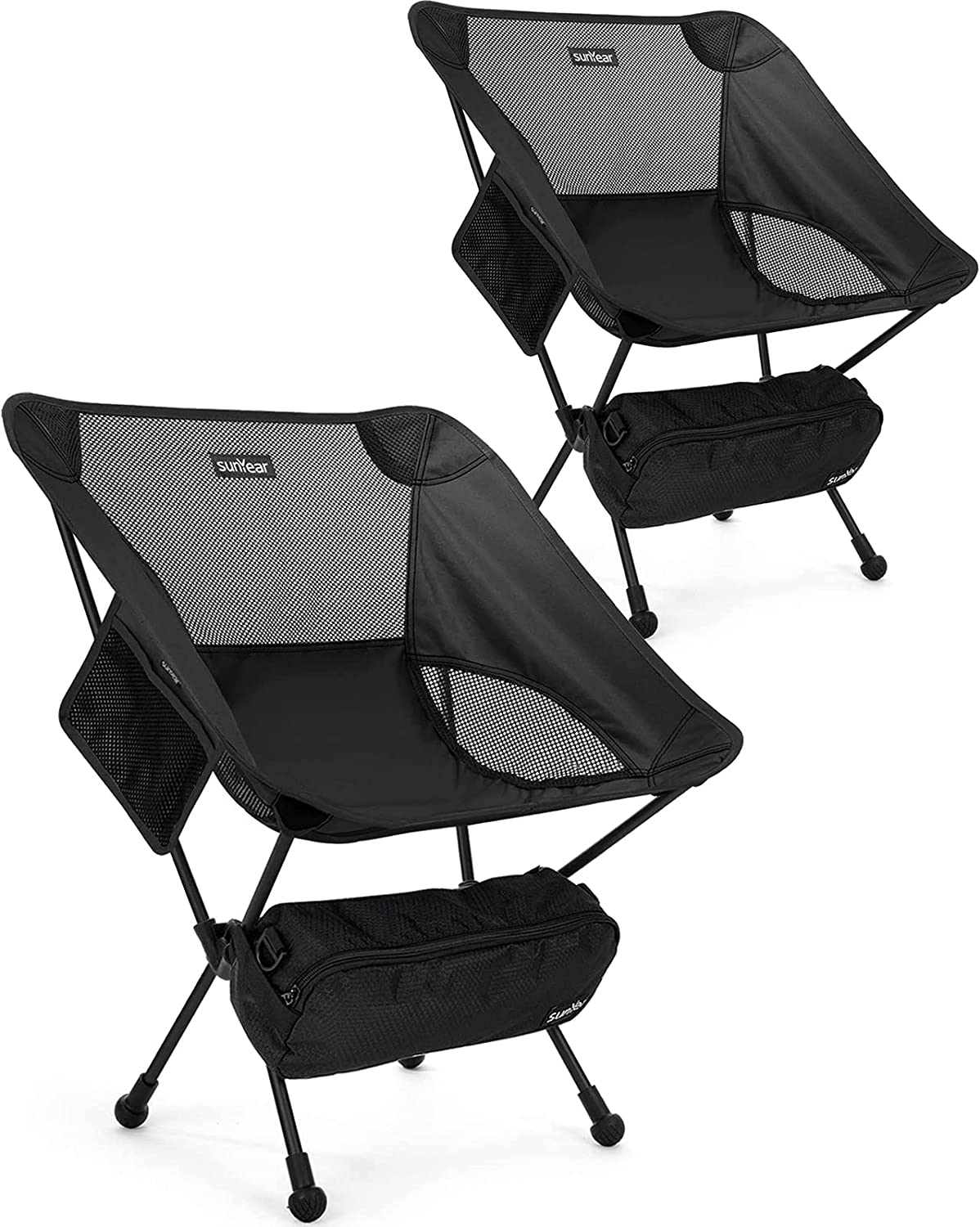 67% OFF of fixed price Sunyear Camping Chair Lightweight Portable Folding Super sale period limited C Backpacking
