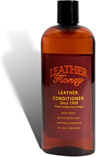 Leather Honey Leather Conditioner, Best Leather Conditioner Since 1968. For Use on Leather Apparel, Furniture, Auto Interiors, Shoes, Bags and Accessories. Non-Toxic and Made in the USA!