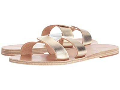 Ancient Greek Sandals Desmos (Platinum/Silver) Women
