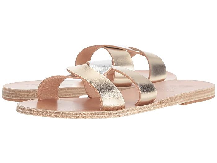 Ancient Greek Sandals  Desmos (Platinum/Silver) Womens Sandals