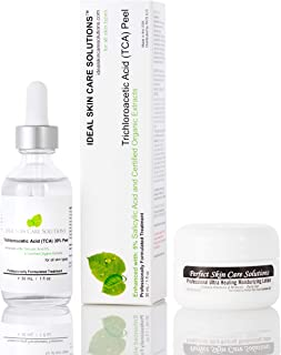Professional 30% Trichloroacetic Acid (TCA Peel) Chemical Peel solution, 30mL w/Powerful Ultra Healing Moisturizing Lotion - PRICE INCLUDES US DOMESTIC. INTERNATIONAL SHIPPING AVAILABLE