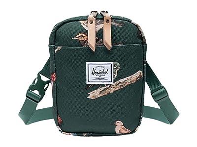 Herschel Supply Co. Cruz (Dark Green Birds) Bags