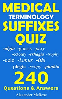 medical terminology suffix quiz