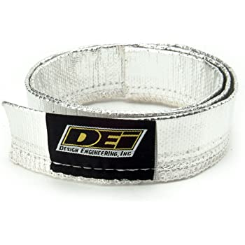 Aluminized Sleeving Sewn DEI 010419 Heat Sheath Material
