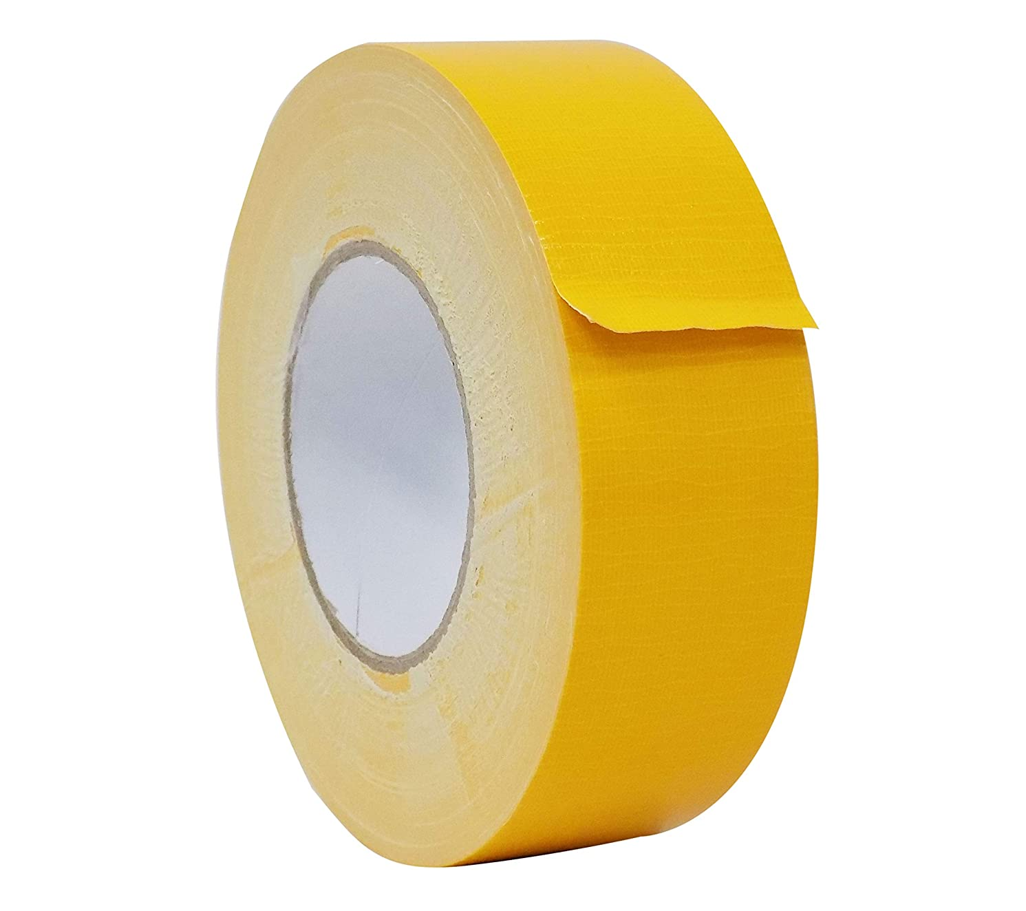 MAT Duct Tape Schoolbus Yellow Industrial Grade - 1/2 in. x 60 yds. - Waterproof, UV Resistant for Crafts, Home Improvement, Repairs, Projects (Available in Multiple Colors)