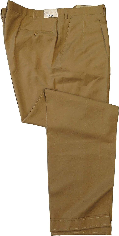 Brioni Men's Beige Snello Wool Casual Dress Pants 46