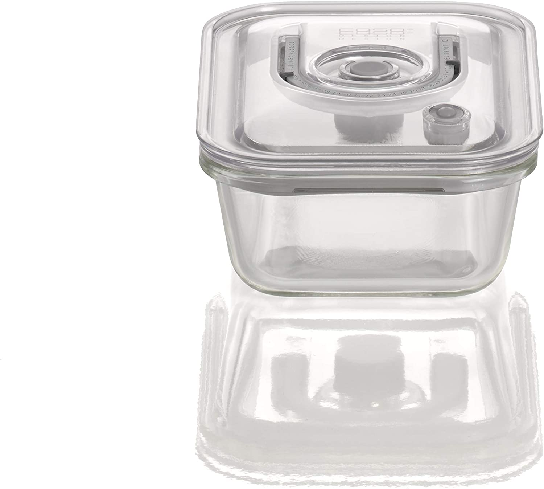 Caso VacuBoxx EM (600 ml) Recipientes al vacío, Cristal