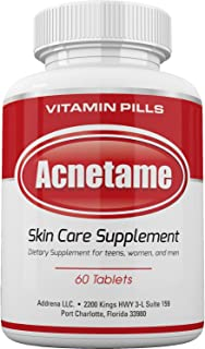 vitamin b5 supplements acne