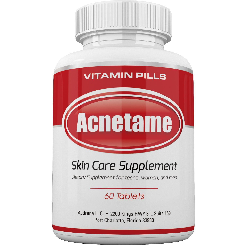 Acnetame Vitamin Supplements Treatment Natural