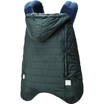 BABYHOPPER 抱っこひも 防寒 カバー 軽量 エルゴ ウインターマルチプルカバー/はっ水 ベビーカーでも使える グレー 0か月~ CKBH04021