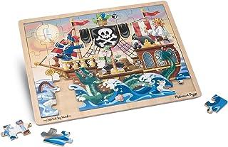 Melissa & Doug Rompecabezas de Aventuras de Piratas,