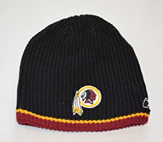 e77351f8715 YOUTH Washington Redskins Reebok Reversible Skull Cap - NFL Cuffless Beanie  Kids Winter Knit Toque Cap