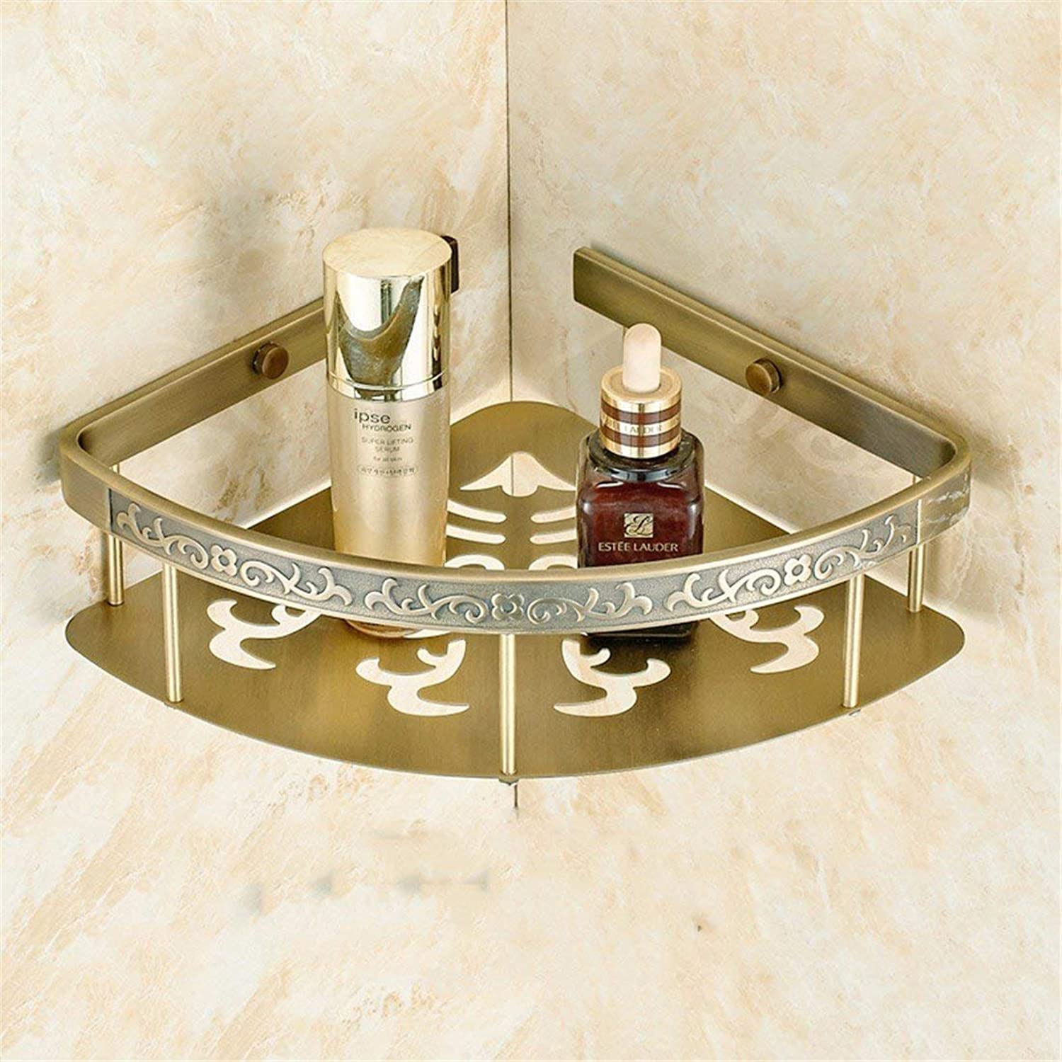 Carved Gulasi Christmas European Green zinc Alloy Base of Accessories of Bathroom Set Soap Toilet Paper,Rack Shopping Cart 1