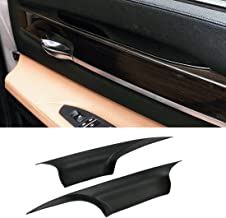For BMW 7 Series Door Pull Handle Covers,Jaronx Left Front and Right Front Door Handle Carrier Trim Cover Kit (Fits:BMW 7 Series F01/F02 2008-2014)
