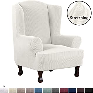 Best sure fit wingback chair cover Reviews