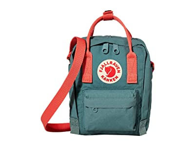 Fjallraven Kanken Sling (Frost Green/Peach Pink) Cross Body Handbags