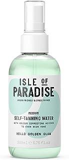 Isle of Paradise Fake Tan Water Medium (200 ml) Hydrating Self Tanning Water Natural Ingredients & Vegan