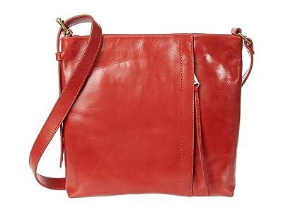 Hobo Drifter (Brick) Cross Body Handbags