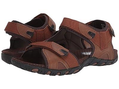 Nunn Bush Rio Bravo 3-Strap River Sandal (Tan) Men