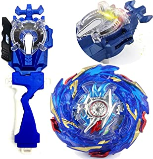 Left Right Sparking Launcher Bey Burst Evolution Turbo Blades Battling Tops Blue String Launcher Grip Super King Booster ...