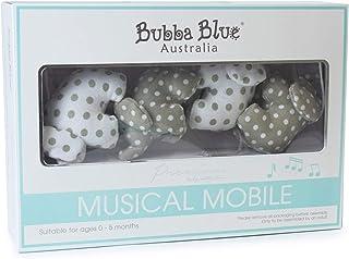 Bubba Blue Petit Elephant Musical Mobile, Neutral Grey/White