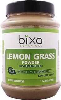 Lemongrass Powder 1 Pound (16 Oz), (Cymbopogon citratus) – Excellent De-toxifier & Fever Reducer | Ayurveda herb for Incre...