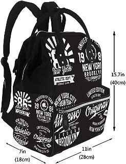 Water-Resistant Baby Bags New York Brooklyn Diaper Bags Backpack