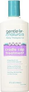 Gentle Naturals Gentle Naturals Cradle Cap Care with Brush, 4 Ounce