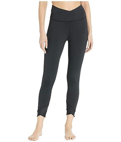 Nike Yoga Wrap 7/8 Tights (Black/Dark Smoke Grey) Women