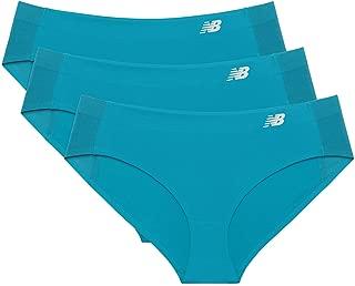 New Balance Women's Hybrid Soft Jersey mesh Panels Hipster Underwear (Pack of 3)