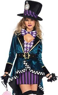 Leg Avenue Women`s Delightful Mad Hatter Halloween Costume