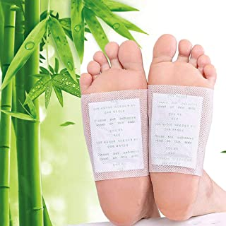 Foot Pads Natural Cleansing Foot Pads for Foot Care, Sleeping & Anti-Stress Relief, No Stress, Pain Relief, Relaxation, Ge...