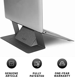 """MOFT Laptop Stand, Invisible Lightweight Laptop Computer Stand, Compatible with MacBook, Air, Pro, Tablets and Laptops up to 15.6"""", Patented, Starry Grey"""